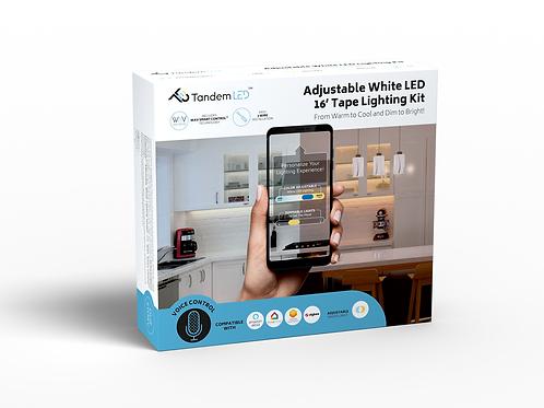 TandemLED + WAV Technology - Adjustable White Lighting Kit