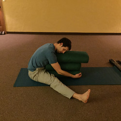 Supported Seated Forward Fold