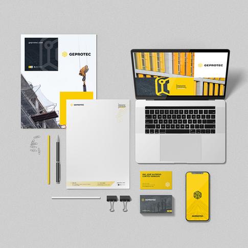 Geprotec branding Incitrus_kit papeleria