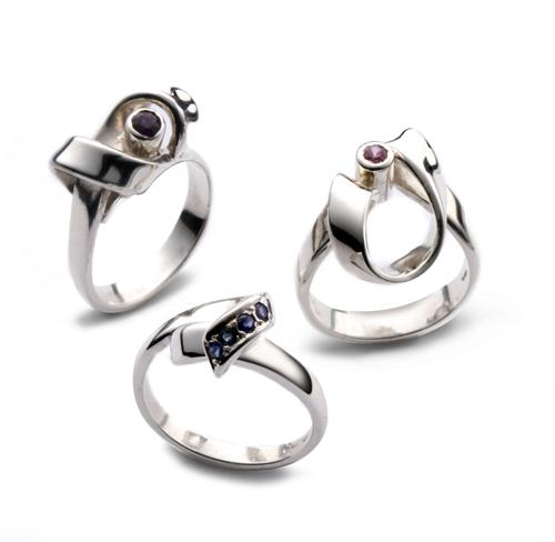 Silver Wrap Rings