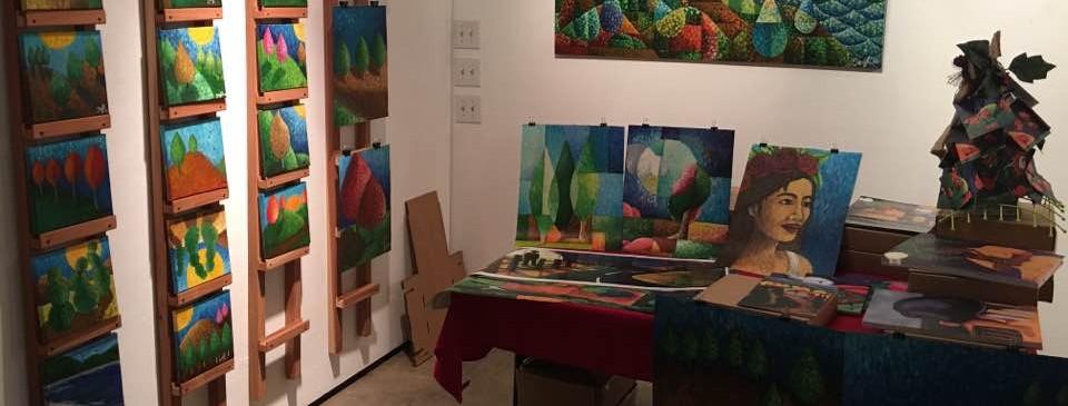 Exhibit at Latino Art Museum