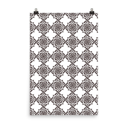 Pattern Flower I - Jezpokili Designs
