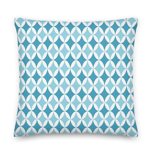 Arguile Blues - Premium Pillow