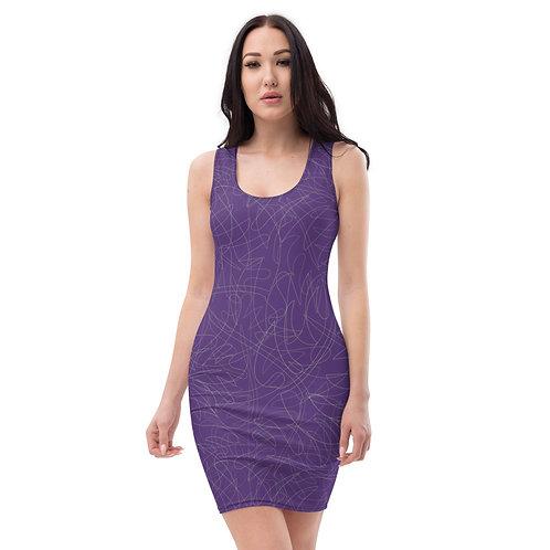 Purple Gorgeous Bandage Dress Days