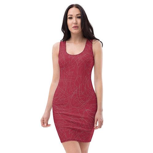 Crimson Red Gorgeous Bandage Dress Days