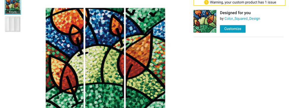 Digital - Stained glass