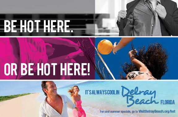 Be Hot Here Campaign