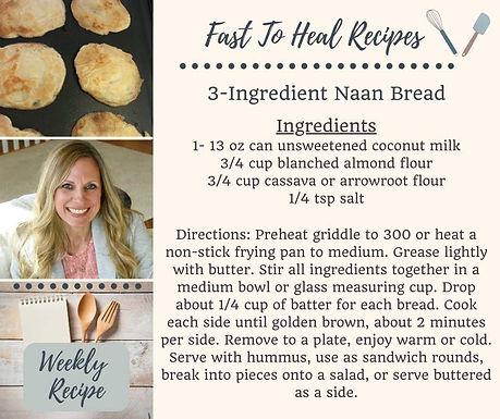 3-Ingredient Naan Bread
