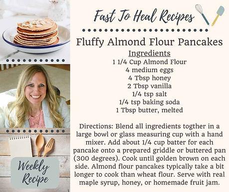 Fluffy Almond Flour Pancakes