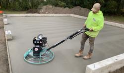 garage floor concrete floor finishing