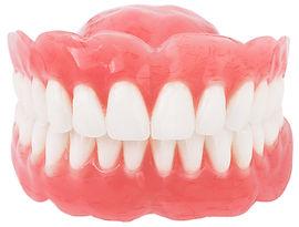 proteza zębowa akrylowa całkowita