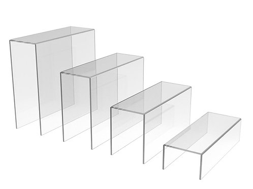 RECTANGULAR RISERS (SET OF 4)