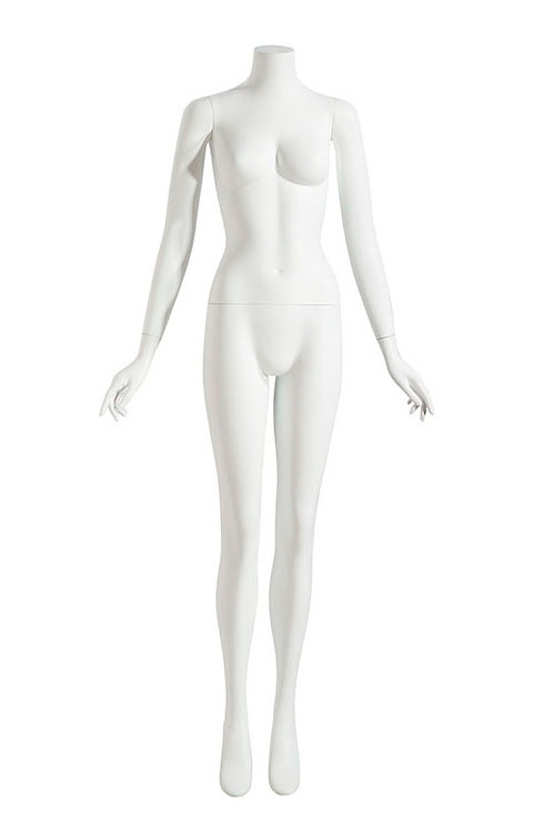FEMALE MANNEQUIN HEADLESS ARMS AT SIDE