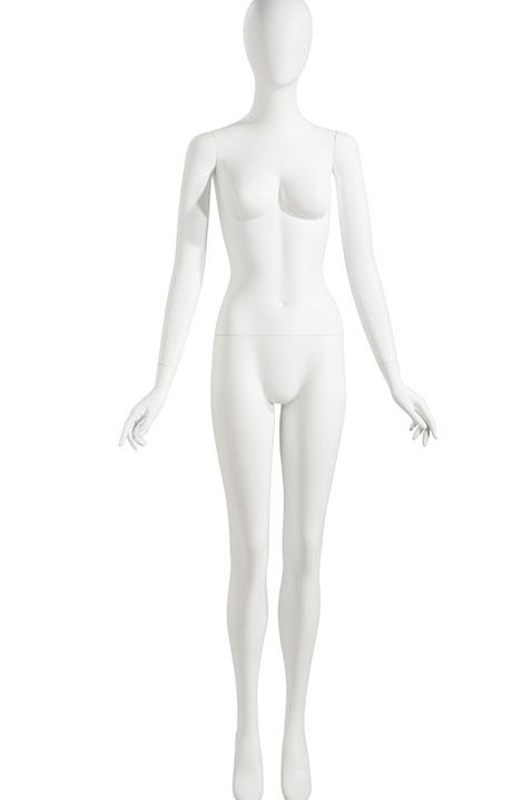 FEMALE MANNEQUIN ARMS AT SIDE