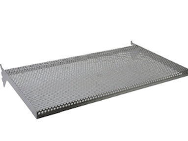 "12"" x 24"" x 1"" PERFORATED METAL SHELF"