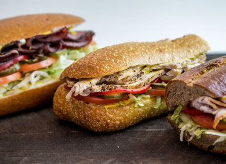 Food Photography for North Beach Deli