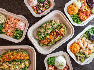 Food photography for Pokeatery in San Mateo