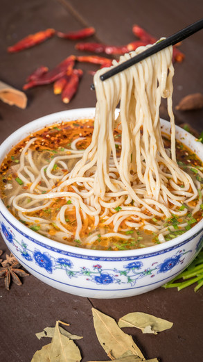 Food Photography for Lanzhou Hand Pulled Noodles in Milpitas, CA
