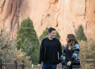 Top 5 photoshoot tips at Garden of The Gods in Colorado Springs