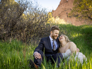 Elopement photography session at Garden of the Gods   Sam + Samantha