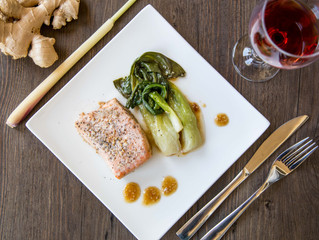 Food photography for Fuel Meal Delivery: Customized Organic Meals