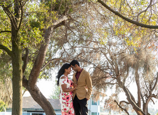 Photographed an engagement session at Shoreline Golf Links in Mountain View