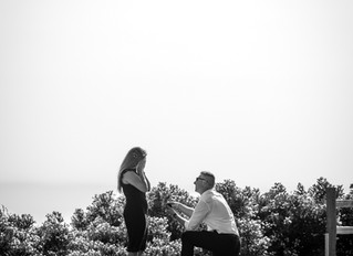 Surprise Engagement photoshoot at San Jose Country Club Golf Course
