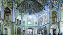 7 weeks traveling through Iran: Visiting Kashan