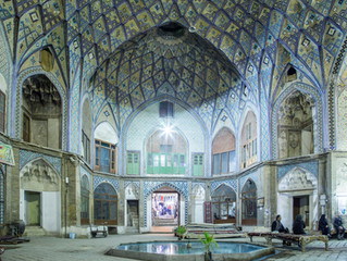 7 weeks traveling through Iran: Visiting Kashan