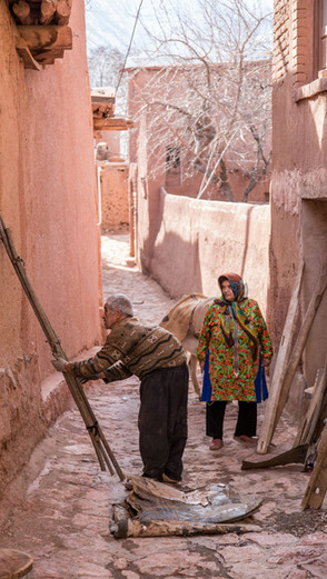 The Historical Village of Abyaneh