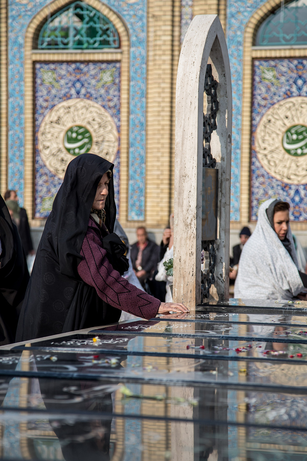 Women praying at Imamzadeh Saleh, Shemiran