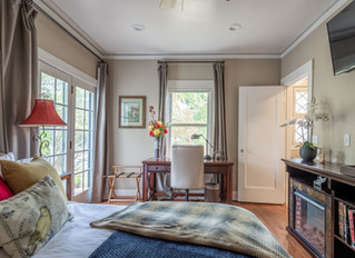 Photographed a charming home in Los Altos for Airbnb