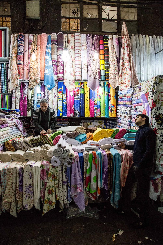 Tehran's Grand Bazaar ©Bobak Radbin