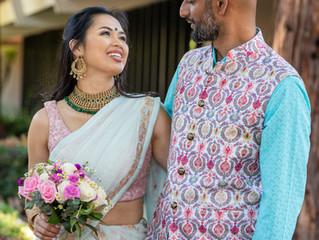 Photographed Oona & Sunil's wedding in San Jose
