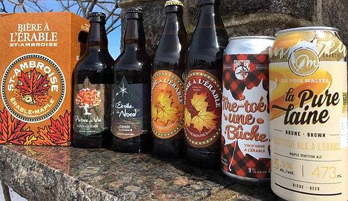 Sélection Bières à l'érable
