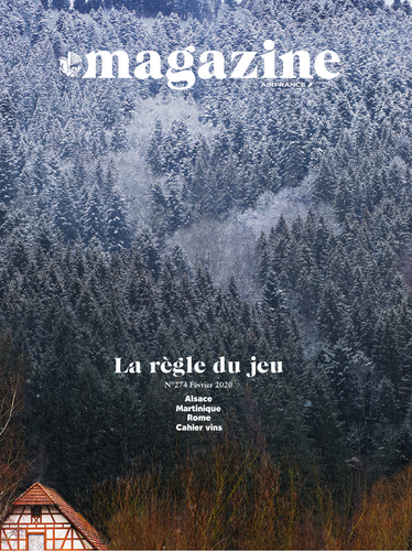 Couverture Air France Magazine, Février 2020