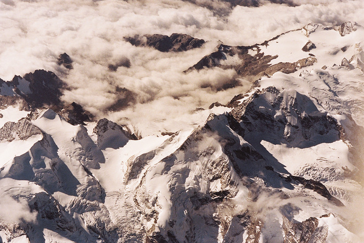 Mountains and clouds 1
