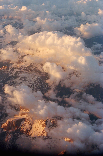 Mountains and clouds 2