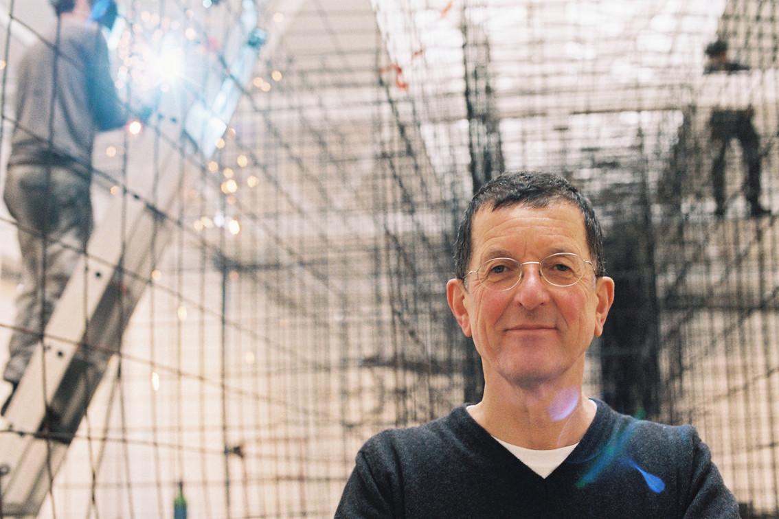 Antony Gormley for M Le Monde, 2015