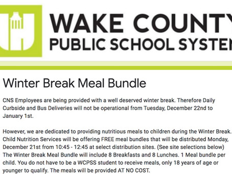 WCPSS Child Nutrition Services