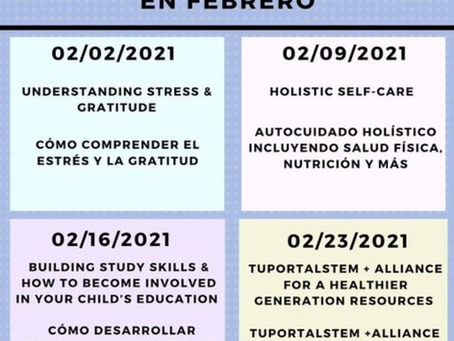 February Bilingual Workshops