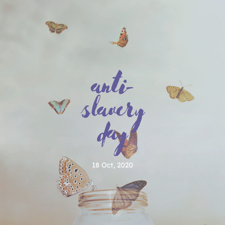 Anti-Slavery Day: Small Steps Toward Breaking Chains