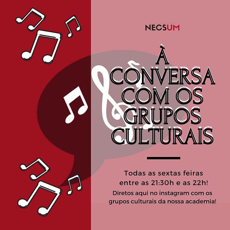 À Conversa Com Os Grupos Culturais