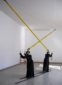 Winterriese at the Hungarian Pavilion, 51st Venice Biennale, Venice, Italy, 2005