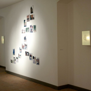 digital prints, installation view