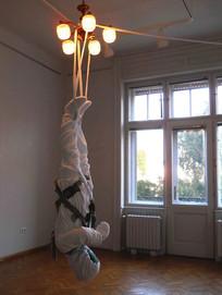 Anthem I (detail) Inda Gallery, Budapest, Hungary, 2013