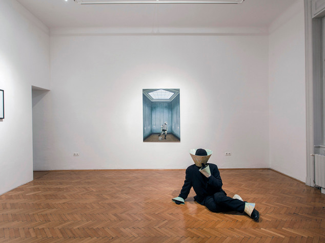 The Awakening of the Outcast at Inda Gallery, Budapest. 2017