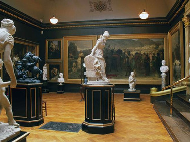 The Edwin Long Room at the Russell-Cotes Art Gallery and Museum, Bournemouth, U.K., 2001