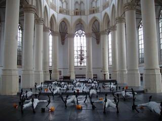 Twenty Three Sailors at the Hooglandse Kerk, Leiden, Holland, 2004