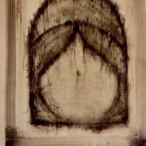 graphite powder, canvas,1993
